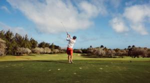 低い球の打ち方を解説/ゴルフ/これで前方の木は怖くない