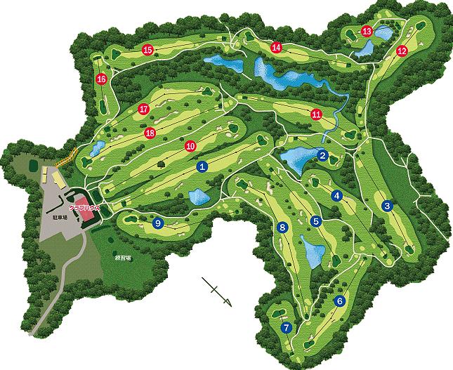 速報リーダーズボード 2019年第7回アクサレディスゴルフトーナメント